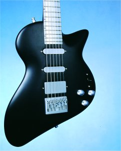 Andreas Black Shark Electric Guitar