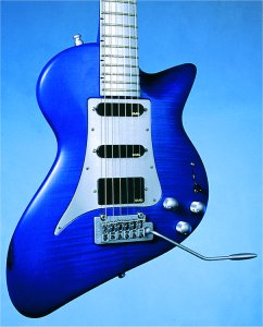 Andreas Blue Shark Electric Guitar