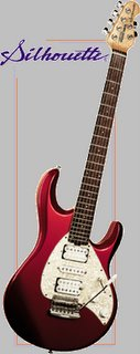 Musicman Silhouette electric guitar
