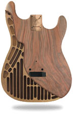 Warmoth Strat hollow body
