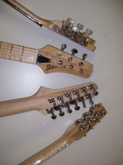 Burrell Guitar Headstock