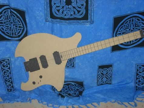 Canton Ergo 2 Electric Guitar Template