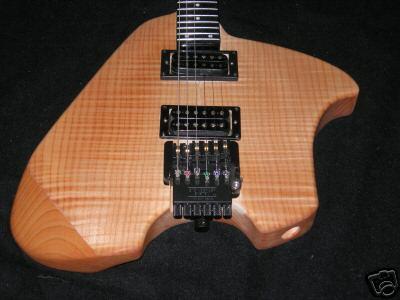 Canton Klein Guitar Body