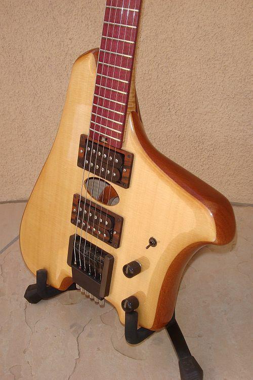 Miller Guitar Back