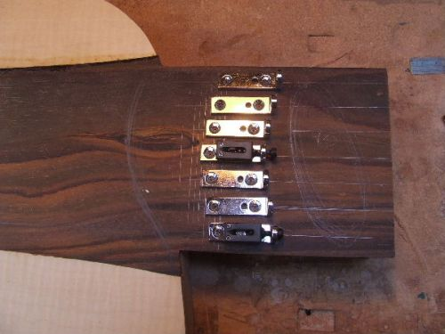 Custom Guitar Bridge