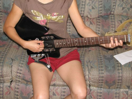 Speedster Electric Guitar Mod