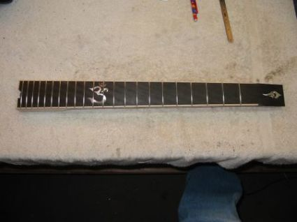 Forshage Guitar Neck Fretted