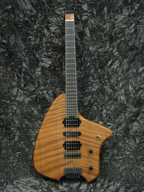 Headless Monster Bass Guitar Wood