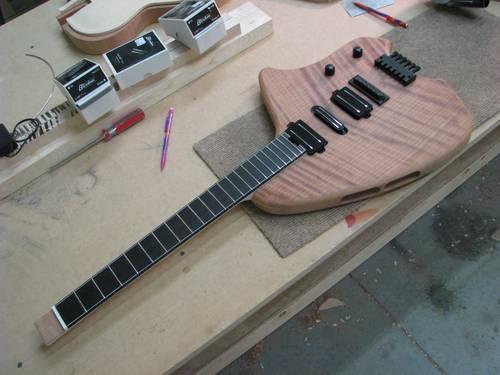 Redwood Forshage Guitar