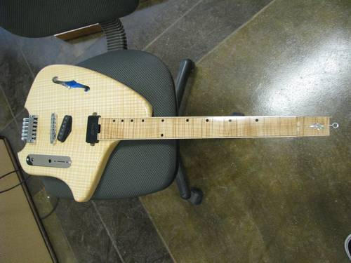 Thinline Tele Style Electric Guitar
