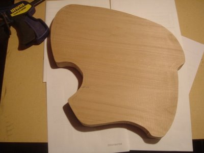 Klein Guitar Rough Cut Body