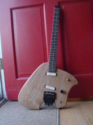 Klein Electric Guitar Build Front