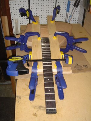 Electric Guitar Neck Pocket Jig