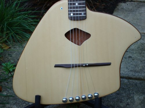 MaSH Ergo Acoustic Guitar Closeup