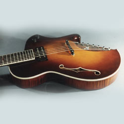 Koll Archtop Electric Guitar Alt View