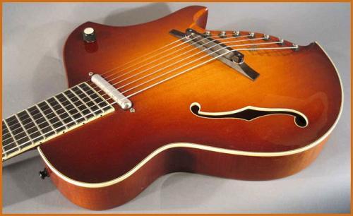 Koll Extended Range Guitar