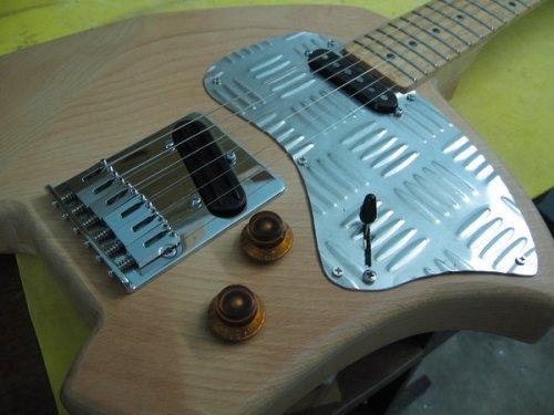 Lavish Klein Guitar Closeup