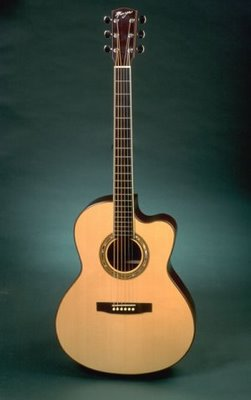 Manzer Steel String Guitar