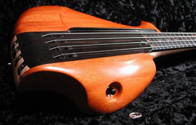 Padilla Electric Bass Guitar Closeup