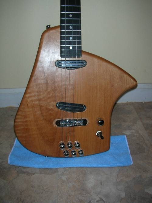 Romano Electric Guitar Closeup
