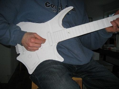 Ergonomic Guitar Casual Position