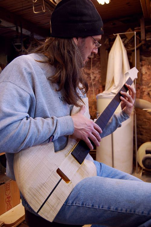 Orchid Bass Sitting Position