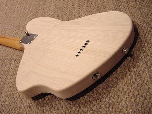 Electric Guitar Back